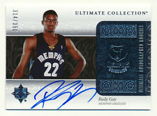2006-07 ULTIMATE COLLECTION RUDY GAY RC AUTOGRAPH 314/350 BLUE INK AUTO RARE SP!