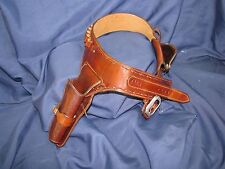 RIO BRAVO      Custom Leather  Double Rig | SASS Cowboy Western Holster Belt
