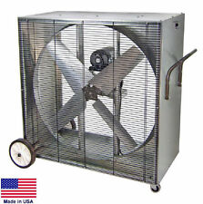 "BOX FAN Industrial - Belt Drive - 42"" - 230 Volts - 1 Hp - 1 Phase - 16,000 CFM"