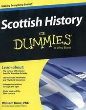 Scottish History For Dummies by Knox, William