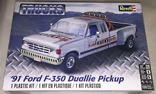 Revell '91 Ford F-350 Duallie Pickup Truck 1/24 Plastic Model Car Kit New 4376