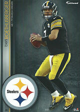 BEN ROETHLISBERGER FATHEAD TRADEABLES MIAMI REDHAWKS STEELERS STICKER 2013 #45