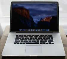 " Apple MacBook Pro ✔17"" Full HD+ ✔2.8Ghz Intel ✔8GB RAM ✔120GB SSD AND 1TB HDD"