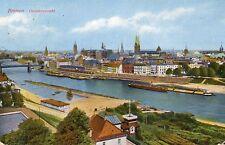 Hansestadt Bremen 1928 Gesamtansicht mit Weser Verlag Paul Andreas Bremen AK