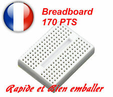 Breadboard 170 pts Couleur Blanc