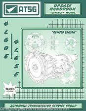 4L60E 4L60-E 4L65E Transmission ATSG Update Service Rebuild Overhaul Manual Book