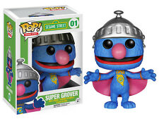 Funko Pop TV Sesame Street Super Grover Vinyl Action Figure Collectible Toy 4890