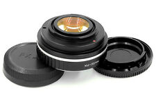 Focal Reducer Speed Booster Adapter Nikon F mount G lens to Fuji FX X100 X-T1 M1