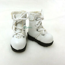 "16cm Lati Yellow Basic Bjd 12"" Blythe Pullip Doll Shoes High Hill Boots WHITE"