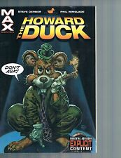 Howard the Duck by Steve Gerber & Steve Winslade Marvel MAX 2002 TPB Marvel