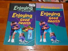 Abeka Enjoying Good Health, grade 5, 2nd edition, 3 piece set + 1 free test book