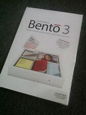 Filemaker Bento 3 Family Pack TW346LL/A  Brand New! Apple