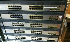 Cisco WS-C3750G-24TS-E 24 Port Gigabit Ethernet Switch for CCNA CCNP CCIE LAB