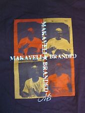 Makaveli Branded T-Shirt Maroon Adult XXL Tupac Shakur Hip hop Rap California