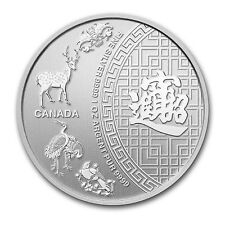 2014 1 oz Silver Canadian Five Blessings Coin - SKU #82645
