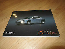 2013 ACURA TSX NAVIGATION SYSTEM OWNERS MANUAL