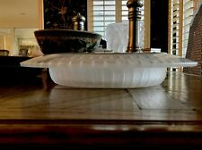 R Lalique Helianthe Centerpiece Bowl Mint Condition Guaranteed Authentic 13""