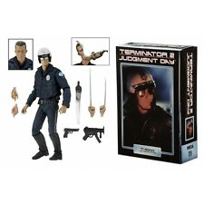 "Ultimate T-1000 Motorcycle Cop (Terminator 2) 7"" NECA Action Figure Brand New"