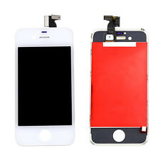 Full Touch Screen Digitizer LCD Display White Assembly For iPhone 4G GSM