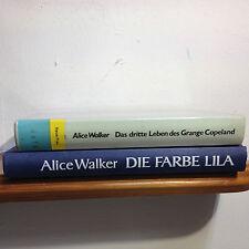 Bücherpaket Alice Walker  2x Das dritte Leben des Grange Copeland/Die Farbe Lila