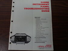 Honda Sabre Instrument Gauge Panel Troubleshooting Guide VF700 S1159