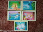 PHQ Stamp card set No 106 Christmas, 1987. 5 card set. Mint Condition.