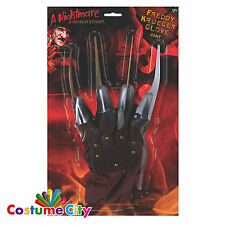 Nightmare on Elm Street Fancy Dress Freddy Krueger Freddys Glove Halloween