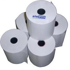 80x80 Till Rolls 80 x 80 External Printer 5x Loose Roll