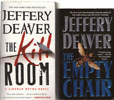 Complete Set Lot of 11 Lincoln Rhyme books by Jeffery Deaver (Crime Fiction)