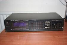 TECHNICS sh-8046 STEREO 7 Band Graphic Equalizer EQUALIZZATORE Touch Panel