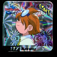 STAKS STAKS AIMANT MAGNET BEYBLADE N° 117 KENNY HOLO
