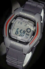 Casio HDD600-1A Men's Digital Watch 100M WR Sport 10 Year Battery New