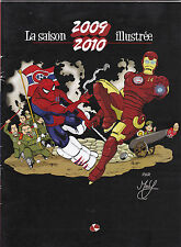 2009/2010 Martin Roy La Saison Illustrie Montreal Canadiens Comic Book