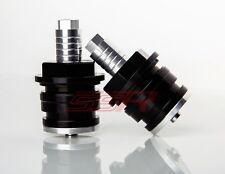 Black Kawasaki Ninja 300/300 ABS Adjustable Preload Fork Adjusters Adjustors