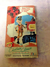 Santa Claus Is Coming to town VHS Fred Astaire,Mickey Rooney cartoon classic