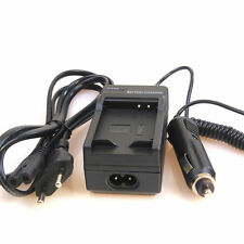 BATTERY CAR CHARGER LI-50B EU Plug FOR OLYMPUS SP-800 SP-810 UZ XZ-1 SZ-30