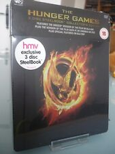 Blu ray steelbook The Hunger Games U.K HMV exclusive New & Sealed NEUF sans VF