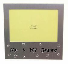 """Me & My Granny Photo Picture Frame Gift 5"""" x 3.5"""""""
