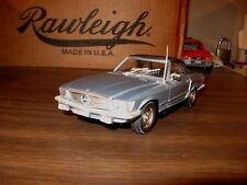 1980 Mercedes-Benz 450SL Conv 1/25 scale die cast model - see this one now