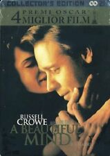 Dvd A BEAUTIFUL MIND - (2002) (Steelbook Collector's Edition)  ....NUOVO