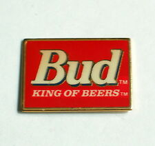 "Budweiser Beer Pin   Bud ""King of BEER""  PIN Badge   ANHEUSER BUSH   Dated 1994"