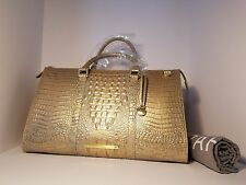 Brahmin NWT Mojave Anywhere Weekender Melbourne Moc Croc Large Travel Bag