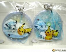 Pokemon Center Snow Festival Alola Vulpix & Pikachu Charm (Sapporo Limited ver.)
