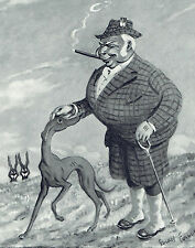 Hugh Lowther Lord Lonsdale Ernest Forbes Caricature 1937 Print Article 9172
