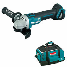 MAKITA 18V LXT DGA454 DGA454Z DGA454RFE ANGLE GRINDER AND 4 PIECE BAG