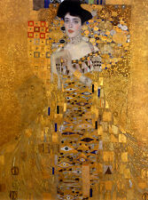 QUALITY CANVAS ART PRINT * Gustav Klimt * The Women In Gold