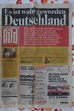Bild Zeitung vom 2. Oktober 1990 Es ist wahr geworden Deutschland  Mauerfall