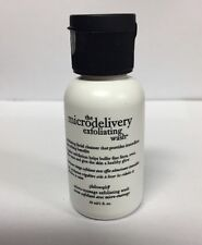 PHILOSOPHY  MICRODELIVERY DAILY EXFOLIATING FACIAL WASH 1 OZ. BARGAIN!