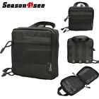 Molle Tactical Military EDC Utility Tool Bag Medical First Aid Pouch 1000D Black