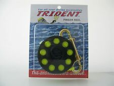 Finger Spool Reel with 100 foot line & brass clip for Scuba Diving, Cave, Wreck